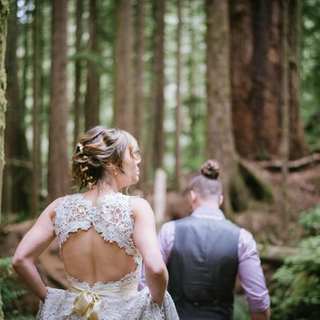 A Forest Fairy Tale | Port Renfrew Wedding Photographer