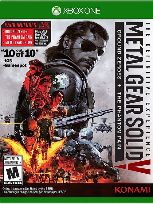 Metal Gear Solid V The Definitive Experience - Xbox One