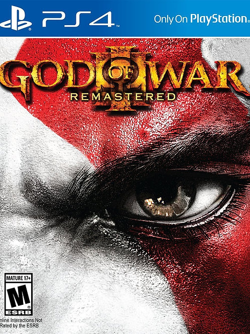 God of War 3 Remasterizado - PlayStation 4
