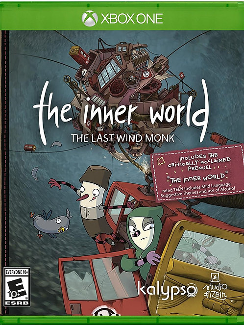 The Inner World The Last Wind Monk -  Xbox One