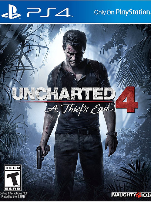Uncharted 4 A Thiefs End Playstation 4 Usado