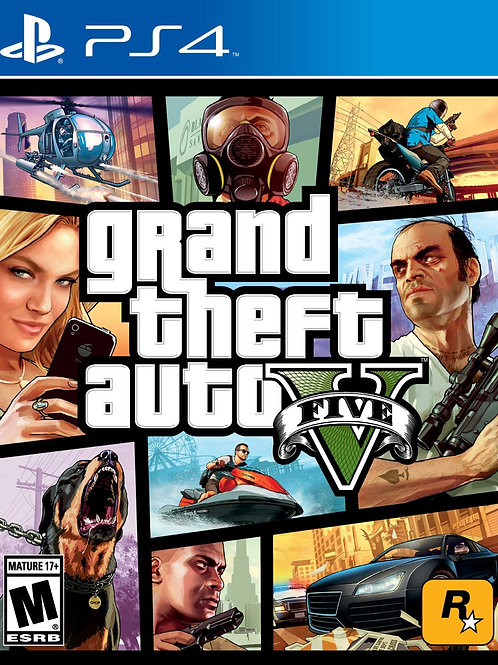Grand Theft Auto V PlayStation 4