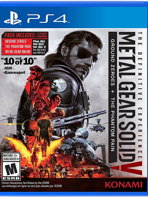 Metal Gear Solid V The Definitive Experience PlayStation 4