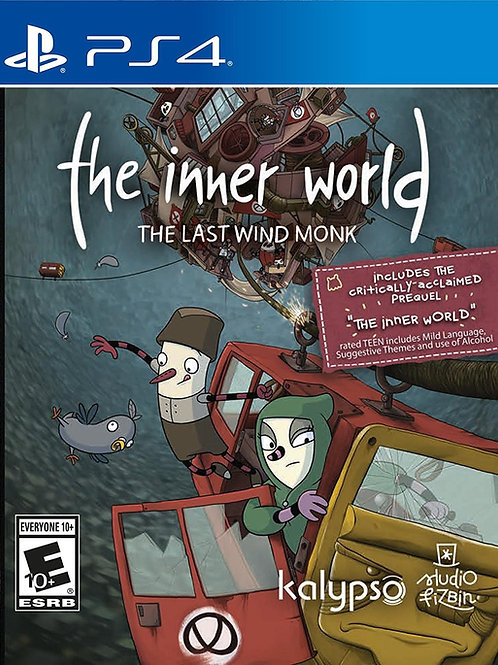 The Inner World  The Last Wind Monk PlayStation 4
