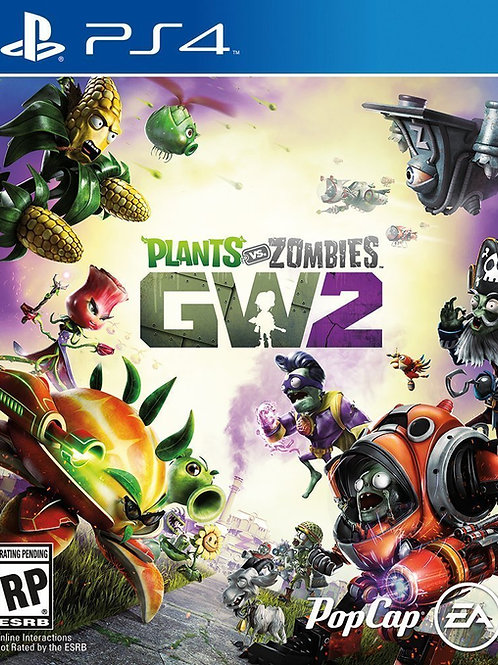 Plants vs Zombies Garden Warfare 2 PlayStation 4