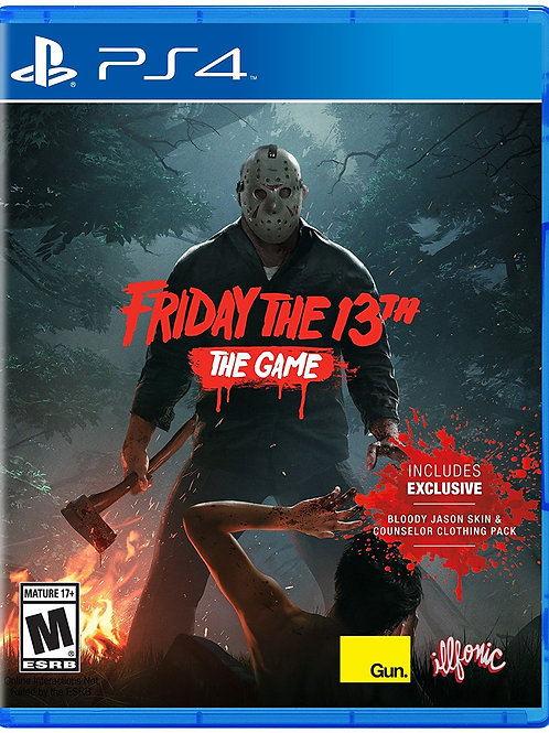 Friday The 13th The Game - PlayStation 4