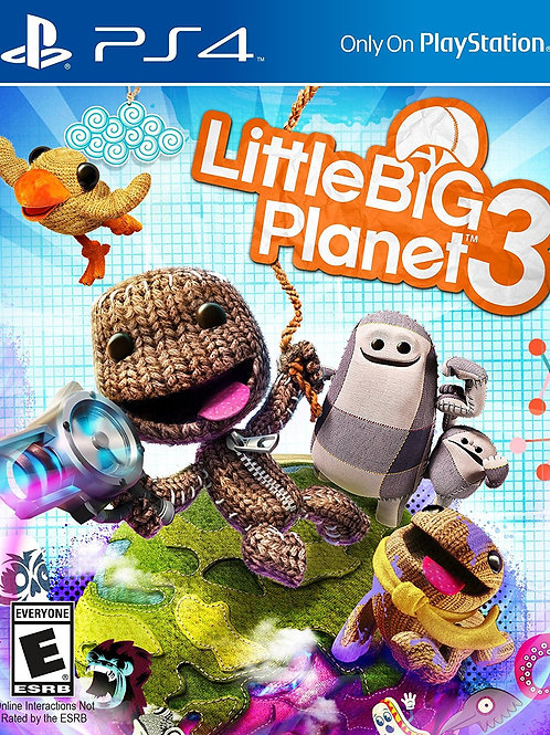 Little Big Planet 3 PlayStation 4