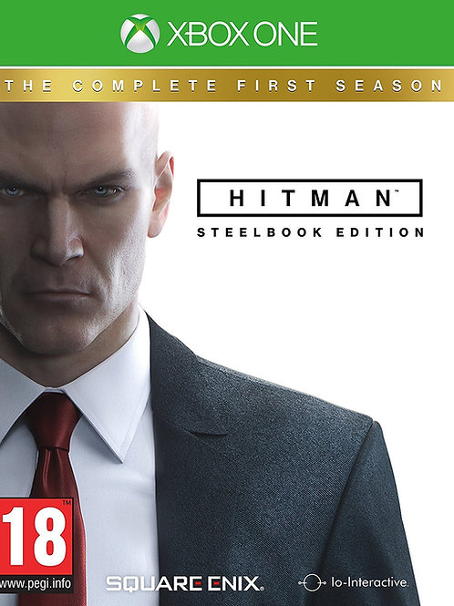 Hitman The Complete First Season Steelbook Edition - Xbox One