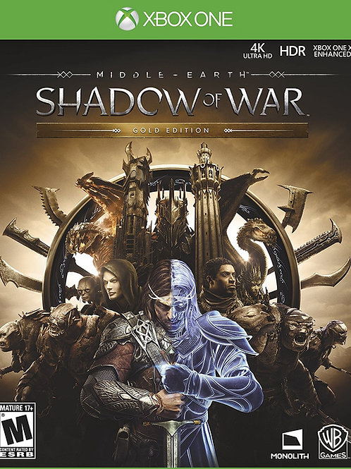 Middle Earth Shadow Of War Gold Edition Xbox One