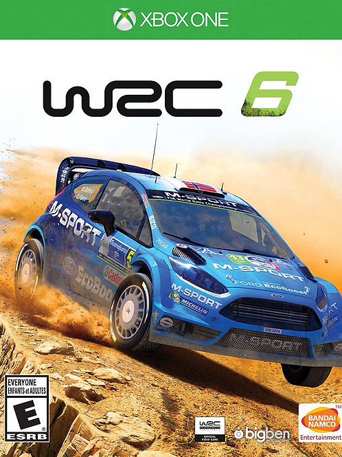 WRC 6 World Rally Championship Xbox One