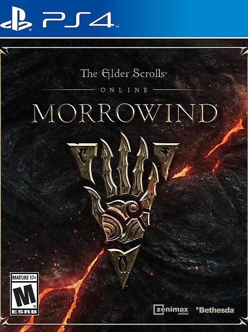 The Elder Scrolls Online Morrowind - PlayStation 4