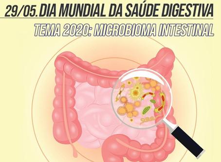 Dia Mundial da Saúde Digestiva - Tema 2020: o microbioma intestinal