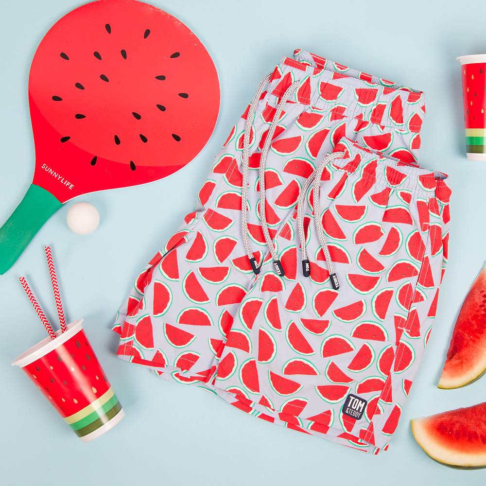 Men's Watermelon Swim Shorts