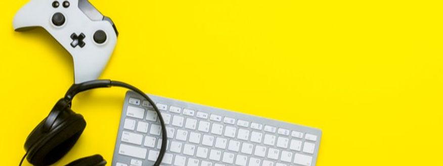 keyboard-controller-headphones-yellow-ba