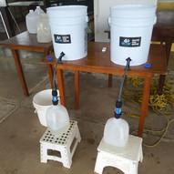 Oasis de agua potable en Secundaria Montessori