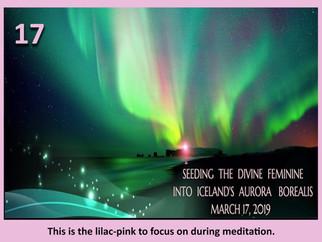 Seeding The Divine Feminine Into Iceland's Aurora Borealis