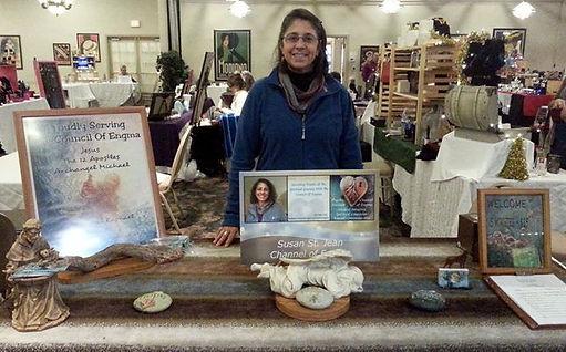 Psychic Medium Spiritual Teacher, Animal Communicator Susan St. Jean
