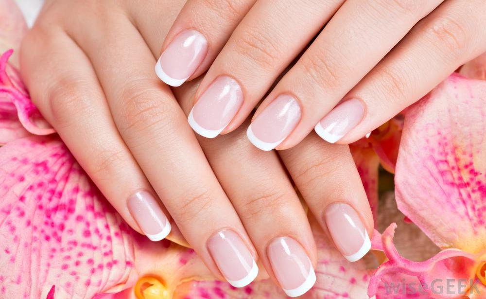 SHELLAC manicure / fransk look
