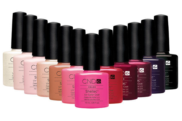 SHELLAC manicure / hel farve