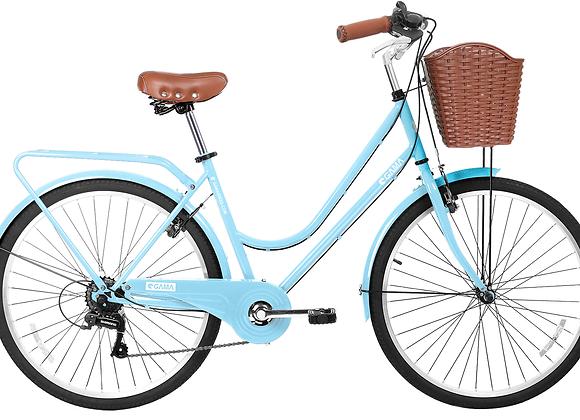 "Gama Bikes Retro Plus Celeste 26"""