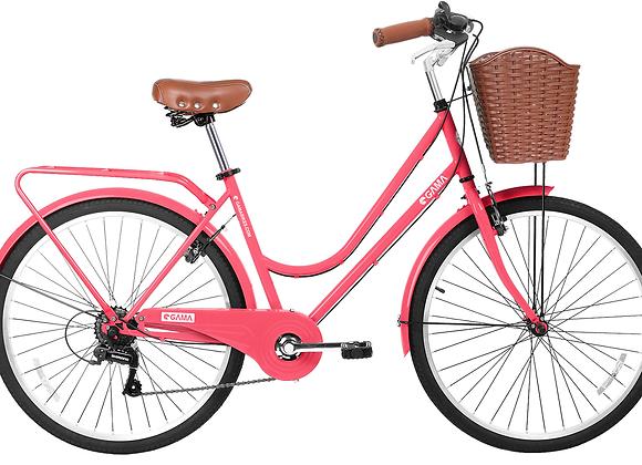 """Gama Bikes Retro Plus Coral 26"""""""