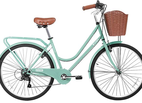 "Gama Bikes Retro Plus Retro Green 26"""