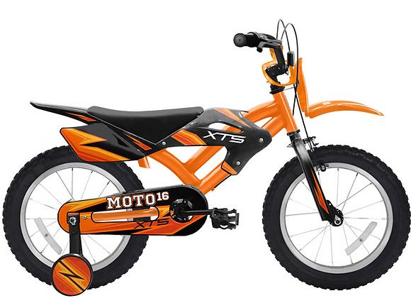 "XTS Moto 16"" Naranjo"