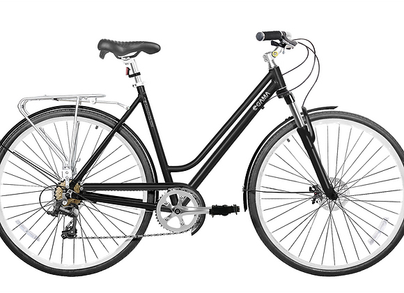 Gama Bikes Metropole Women Black 700C