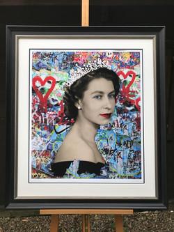 elizabeth framed