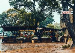 Straßenmarkt Ukunda