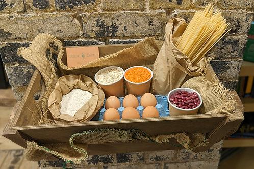 Small dry essentials box