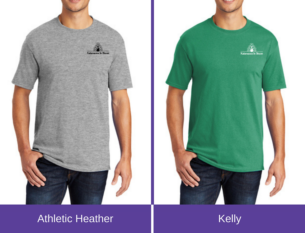 2021 shirt color choice, athletic heather or kelly
