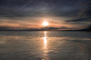 Bojan Rupnik Photography, pokrajinska fotografija: sončni vzhod in Cerkniško jezero