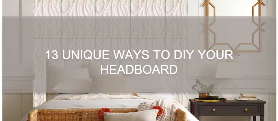 13 Unique Ways To DIY Your Headboard