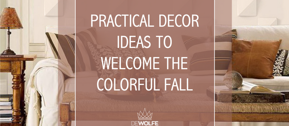 Practical decor ideas to welcome the colorful fall