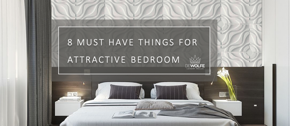 8 must have things for attractive bedroom