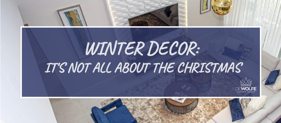 Winter Decor: It's Not All About The Christmas