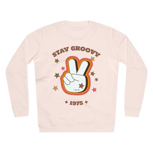 SWEATSHIRT ROSE CANDY GROOVY COTON BIO