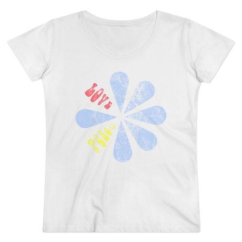 Tee-shirt CDS vintage flower