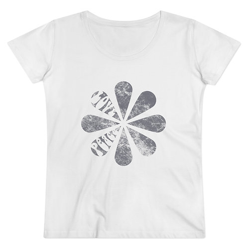 Tee-shirt CDS flower Coton