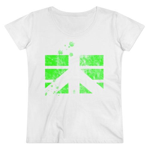 Tee-shirt CDS Coton vert fluo