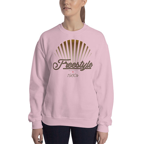 SWEATSHIRT VRAIMENT SUD SUNSET ROSE