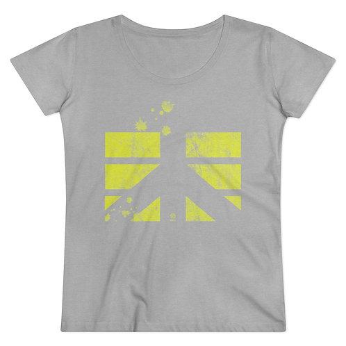 Tee-shirt CDS Coton jaune fluo
