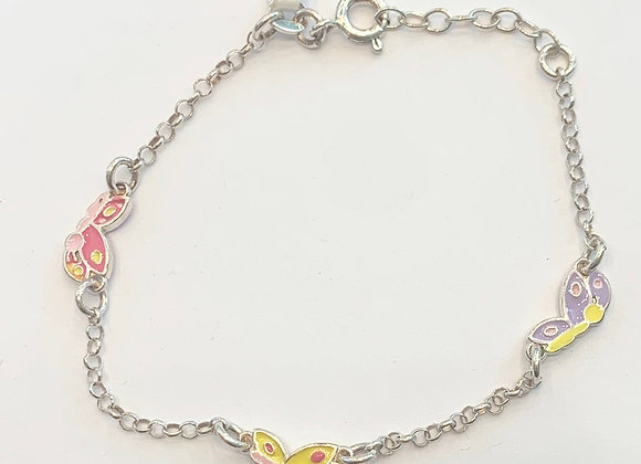 Sterling Silver Children's Bracelet