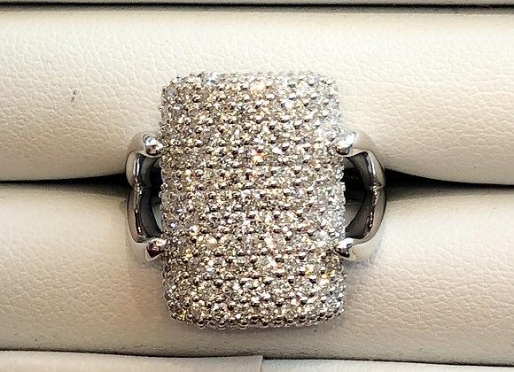 White Gold Diamond Set Ring