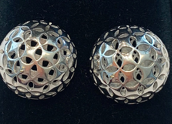 Sterling Silver Dome Stud