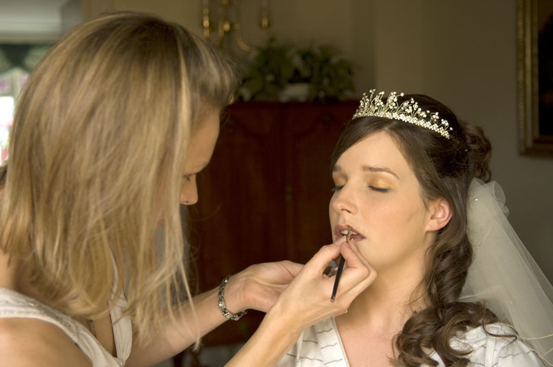 Bridal make-up by Sarah Batt