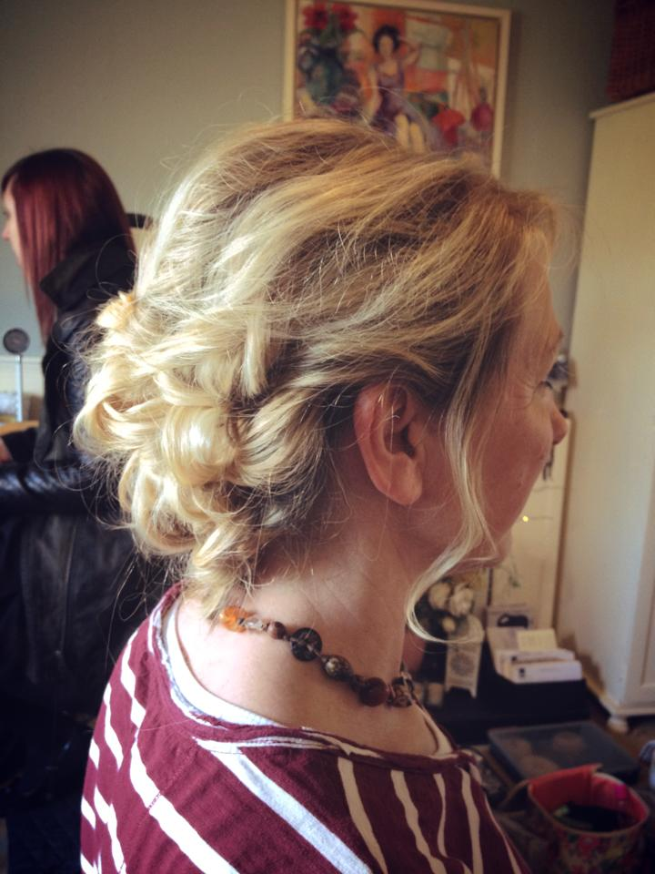 Bridal Hair by Sarah Batt