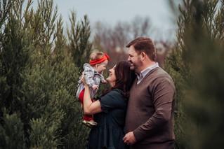The Bartlett Family {tree farm sessions}