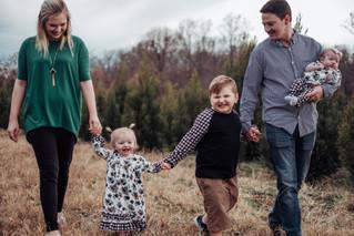 The Cochrane Family { tree farm sessions }